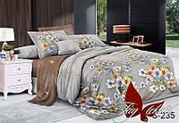 ✅ Двуспальный Евро комплект постельного белья (Люкс-сатин) TAG S235