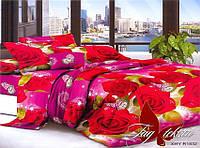 ✅ Двуспальный Евро комплект постельного белья (Поликоттон) TAG XHY1832