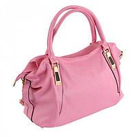 Розовая женская сумка для ношения на плече Traum арт. 7234-13
