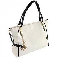 Вместительная сумка для женщин белая Traum арт. 7240-47