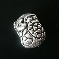 Бусина Pandora (Пандора) посеребренная P4130845, фото 1