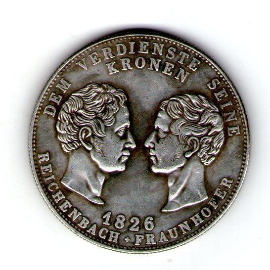 Бавария. Людвиг I Баварский. Талер 1828 г.