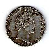 Бавария. Людвиг I Баварский. Талер 1828 г. , фото 2