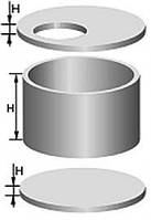 Кольца железобетонные 0,8м