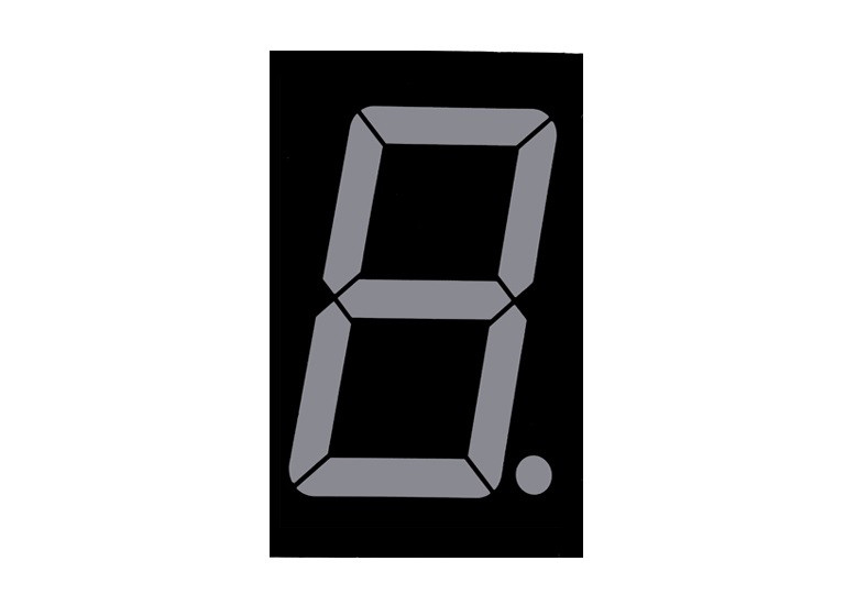 Светодиодный индикатор 0.5 inch