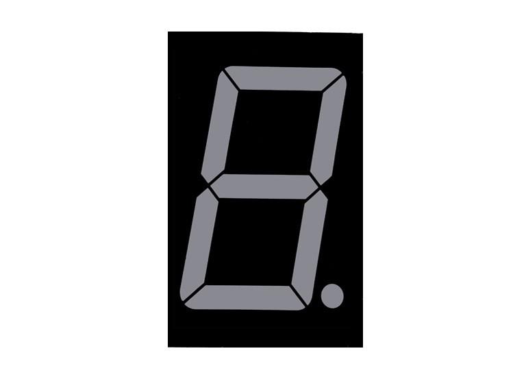 Светодиодный индикатор 0.52 inch
