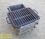 Решітка гриль чавунна для барбекю 260х360 мм. мангал, фото 2