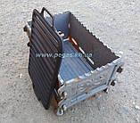 Решітка чавунна гриль для барбекю мангалу 260х420 мм., фото 3