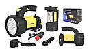 Фонарь ручной многофункциональный Tiross TS-1871 15 LED + 2W COB LED yellow, фото 5