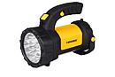 Фонарь ручной многофункциональный Tiross TS-1871 15 LED + 2W COB LED yellow, фото 3