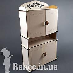 Мебель для куклы Барби  Шкаф №2 для  монстер хай  для  винкс свинка пеппе Pepe кукольный домик