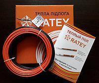 Кабель нагревательный двужильный Ratey RD2 длиной 54,5м/6,8м², 975Вт