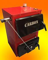 Котел твердотопливный Carbon КСТО-14П с плитой длительного горения, фото 2