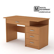 Стол письменный с выдвижными ящиками Студент - 2, фото 3