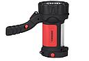 Фонарь ручной многофункциональный Tiross TS-1871 15 LED + 2W COB LED red, фото 4