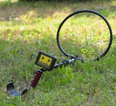 Металлодетектор импульсный MDU Pirat TL катушка глубинная до 3 м