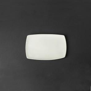 Тарелка прямоугольная фарфоровая Helios 200х140 мм (HR1170)