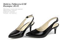 Женские туфли на шпильке. Натуральная кожа., фото 1