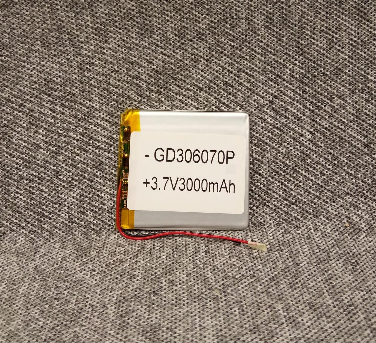 Литий-полимерный аккумулятор 306070 1800mah 3.7V