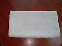 """Махровое полотенце отельный борд  50Х70 """"Египетский хлопок"""" Белое 530"""