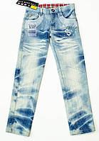 Стильные джинсы  для девочки  рос 128-134 см, фото 1