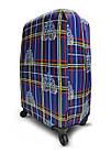 Чехол для чемодана  Coverbag дайвинг L клетка разноцветный, фото 2