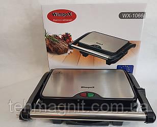 Контактный гриль, Панини гриль WimpeX WX-1066 (1500 Вт) гриль прижимной, сэндвичница