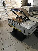 Угловая термоусадочная упаковочная машина с крышкой термоусадка SmiPack SL 56  б/у  Италия, фото 1