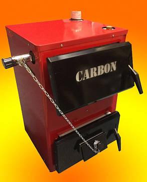 Котел твердотопливный Carbon КСТО-18 длительного горения, фото 2