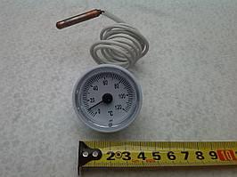 Термометр на 120 `C (D-35мм) с капиляром-L-1М