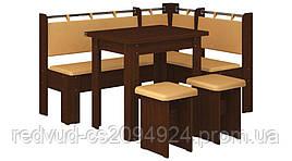 Кухонный уголок с раскладным столом Гетьман