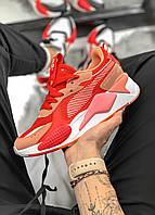 Женские Кроссовки Puma RS-X Red/Pink (реплика), фото 1