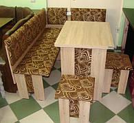 Кухонный уголок с раскданым столом Аристократ