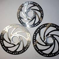 Тормозной ротор с переходниками SHUNFING (диаметр 160)