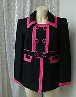 Пальто легкое женское жакет хлопок бренд George р.48, фото 1