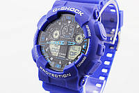 Часы наручные Casio G-Shock ga-100 Blue CA131, фото 1