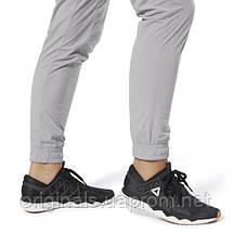Спортивные серые брюки Reebok женские Training Supply Woven DU4053  , фото 3