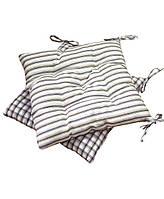 Подушка на стул Прованс 40х40см Кантри коричневая