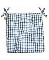 Подушка на стул Прованс 40х40см Кантри синяя