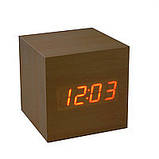Настольные часы от сети+батарейка ART-869 (120 шт), фото 5