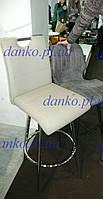 Поворотный барный стул В-10 капучино  от Vetro Mebel, экокожа