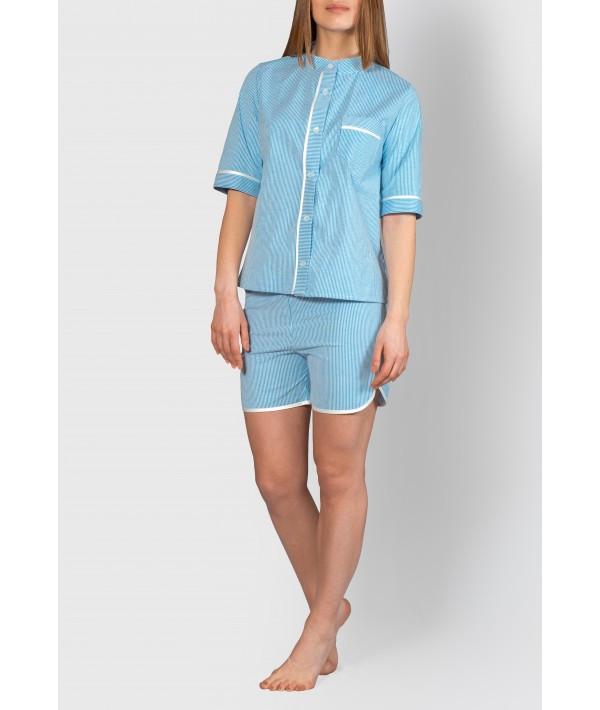 Костюм домашний женский  MODENA DK005 (рубашка и шорты), фото 1