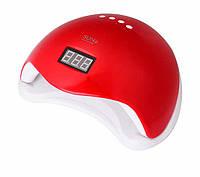 Лампа для маникюра Lamp SUN 5 48W UV+ LED красная