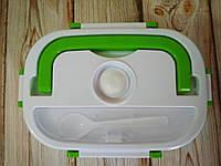 Ланч-бокс, пищевой контейнер с подогревом от сети 220V, разные цвета