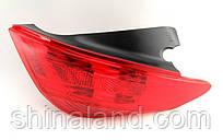 Фонарь задний правый Peugeot 308 I (дорестайл) 2007 - 2011 P21+5W+P21+5W+P21W+P21W, с лампами, (Magneti Marelli, 714025890802) OE 6351CV - шт.