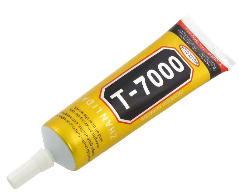 Клей силиконовый T7000, чёрный, 50ml, в тюбике с дозатором