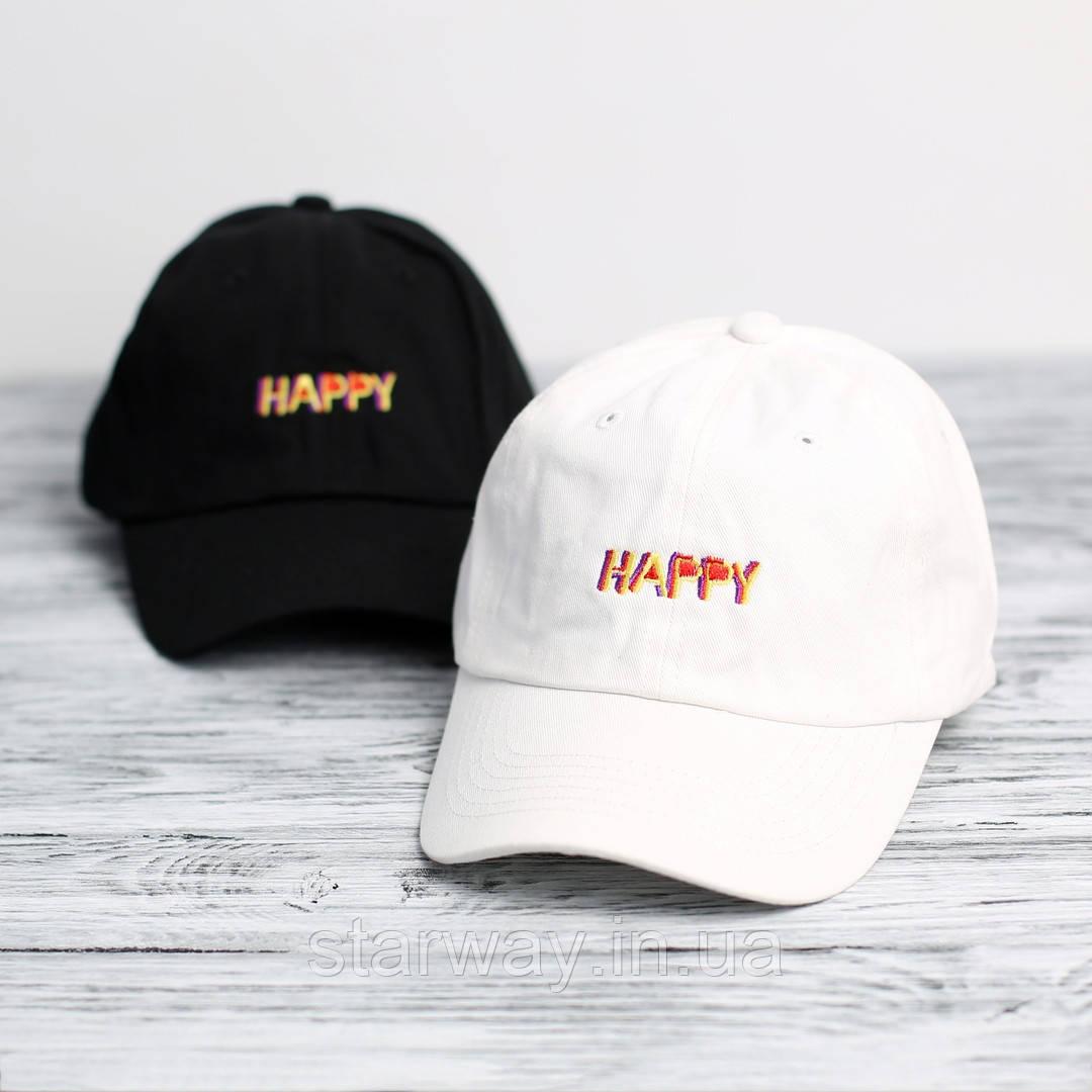 Кепка топ Happy логотип вышит