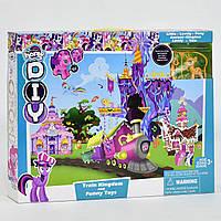 Игровой набор Замок для Пони с железной дорогой