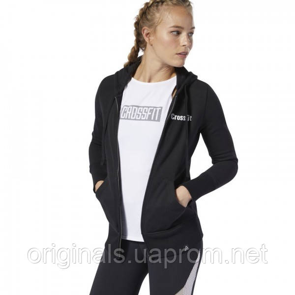 Худи Reebok CrossFit® Zip для девушек DP6214
