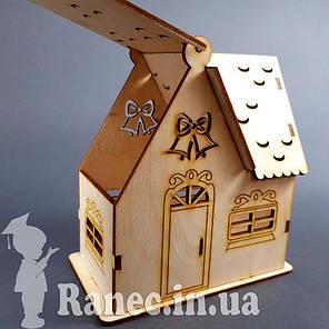 Деревянный домик шкатулка №10, фото 2